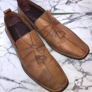 Mark Nason Brown  Leather Loafers Size 9.5